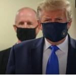 पहली बार मास्क पहने दिखे अमेरिकी राष्ट्रपति ट्रंप, कही ये बात