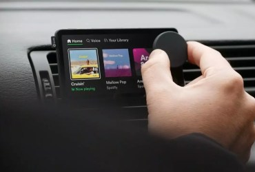 Spotify took the wraps off its in-car entertainment system, Car Thing