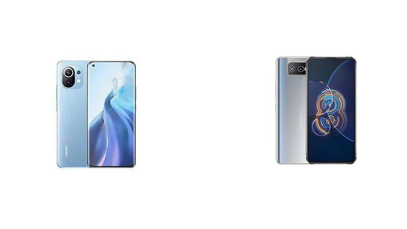 Phone Comparisons: Xiaomi Mi 11 vs Asus Zenfone 8 Flip