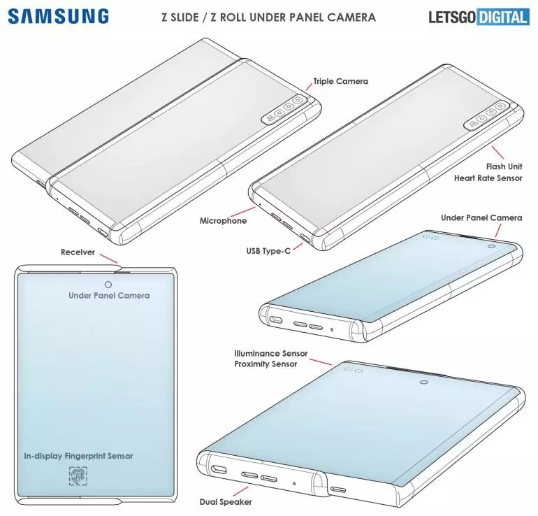 Samsung patent gives an idea about Galaxy Z Roll