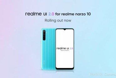 Realme Narzo 10 would receive the stable update of Android 11 based Realme UI 2.0 in the coming the next month