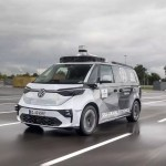 Volkswagen is testing an electric robotaxi in Munich, Germany