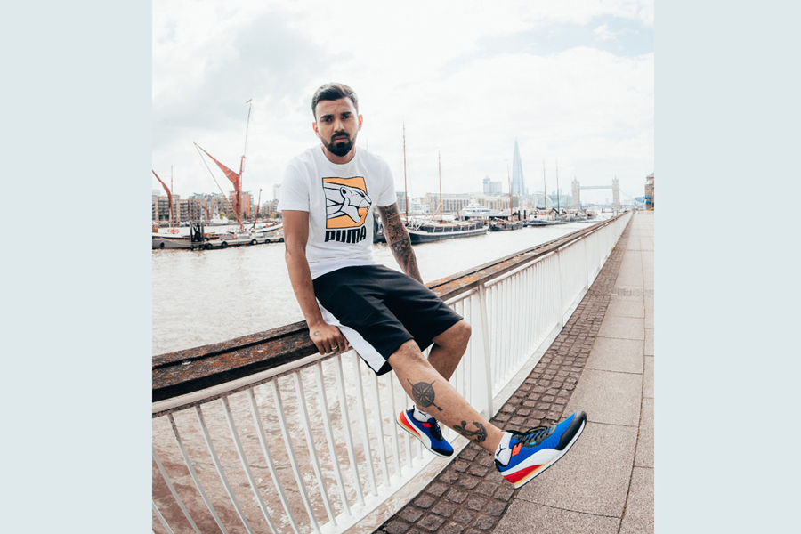 PUMA and Flipkart partner with Cricketer KL Rahul to launch 1DER a streetwear-inspired athleisure range