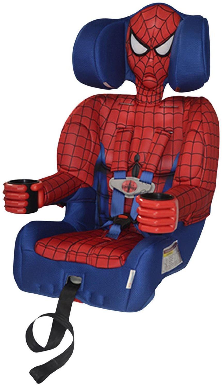 booster chairs for kids electric recliner lift chair perth the 4 most awesome superhero seats your news wheel