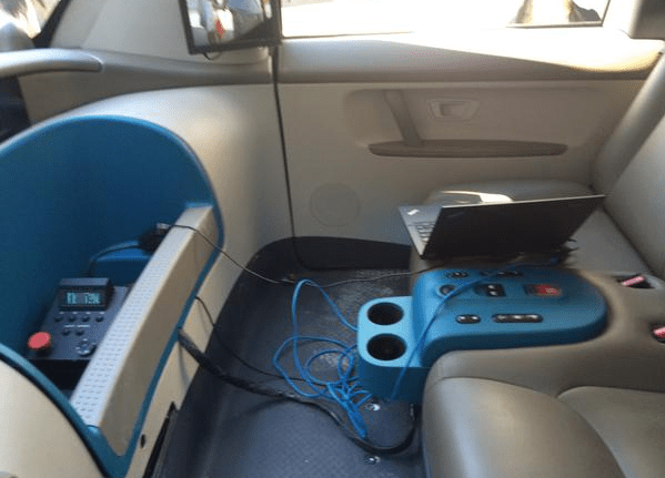 Tweet Reveals Interior Of Googles SelfDriving Car  The