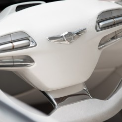 Hyundai Vision G Coupe Concept steering wheel