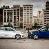 2016 Chevrolet Sonic Sedan and Hatchback