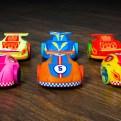 3D printed Cannybots - On Wood Cannybot Robotic toy car