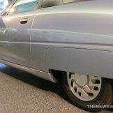GM EV1 Electric Car at Smithsonian back tire