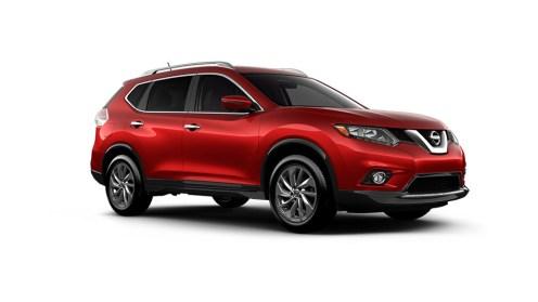 2016 Nissan Rogue Oblique
