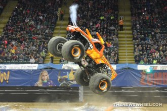 Monster Jam Show Dayton El Toro Loco truck jump