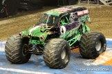 Monster Jam Show Dayton Grave Digger truck
