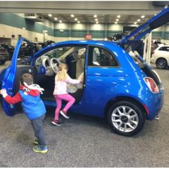 fiat dayton auto show