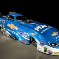 Legendary NHRA driver John Force will be driving this Camaro SS Funny Car at this weekend's NHRA Kansas Nationals