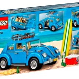 Blue VW Beetle Lego Set 10252 box back