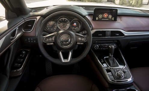 2016 CX-9 dashboard