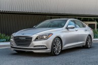 2017 Genesis G80 Overview luxury car front end view