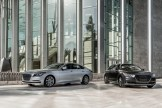 2017 Genesis G80 Overview luxury car silver black showroom