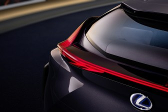 Lexus UX crossover concept 2016 Paris Auto Show brake lights