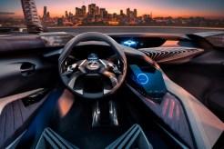 Lexus UX crossover concept 2016 Paris Auto Show driver seat