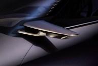 Lexus UX crossover concept 2016 Paris Auto Show side mirror
