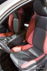 2016 Lexus CT 200h at Chicago Auto Show seats