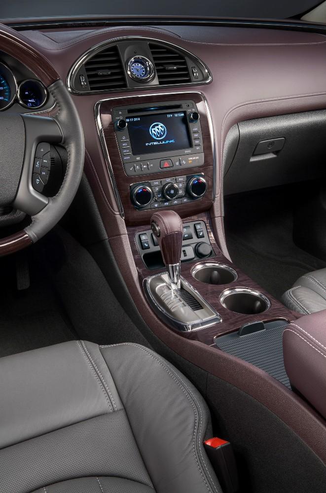 2017 Buick Enclave Interior  The News Wheel