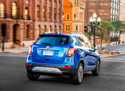 2017 Buick Encore model overview rear blue