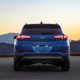 2017 Hyundai Tucson NIGHT model CUV special edition rear trunk