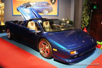 Hollywood Star Cars Museum Gatlinburg Attraction review information famous movie TV vehicles Lamborghini