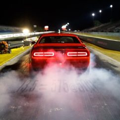 Third Brake Light Law Trailer Box Wiring Diagram Dodge Invokes Newton S To Shed On The Demon Drag Mode