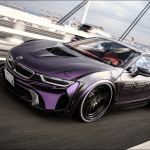 Energy Motor Sport Unveils Customized Dark Knight Edition Bmw I8 The News Wheel