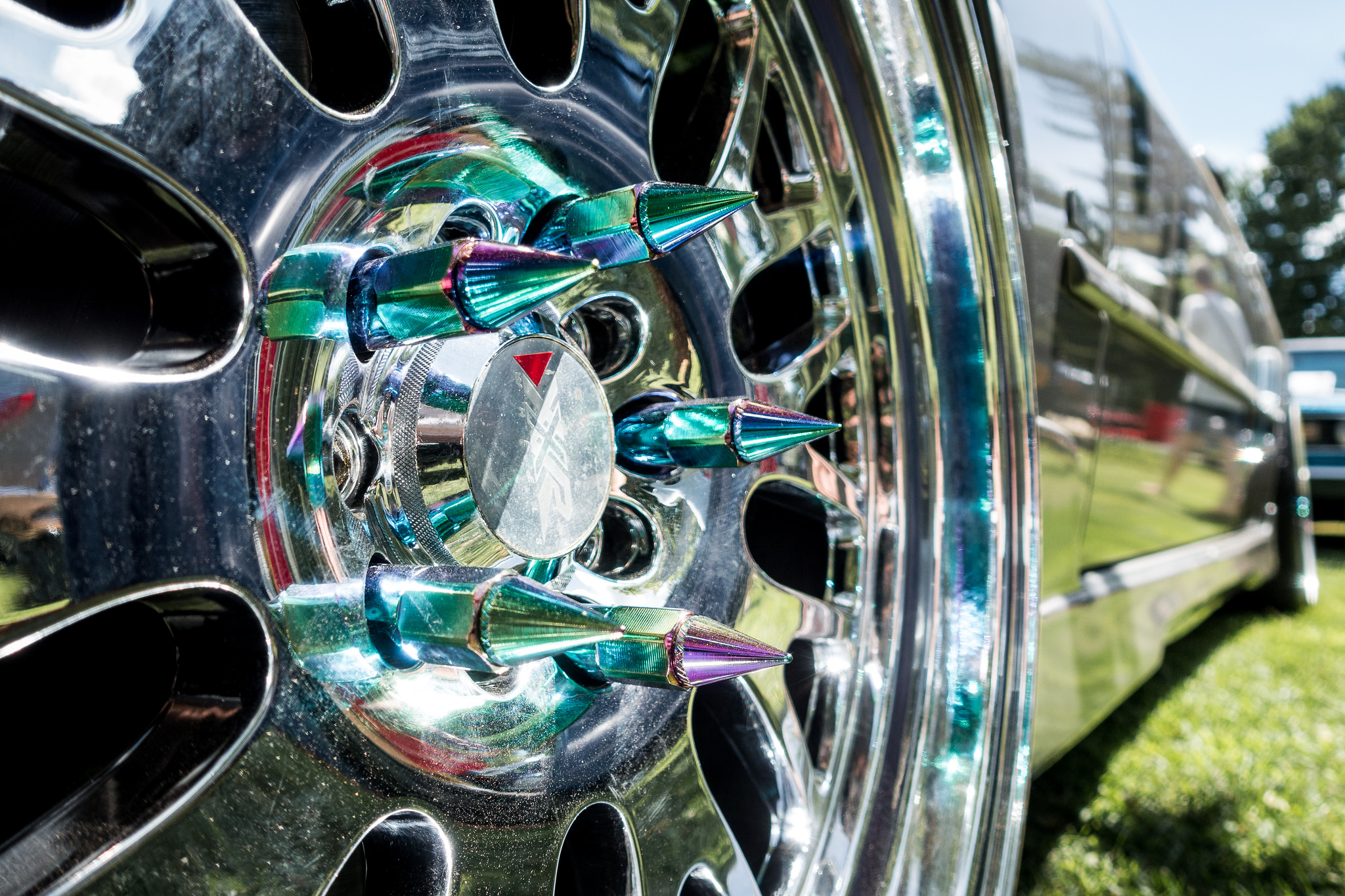 Semi Truck Hubcap Spikes Decorative Or Dangerous The