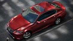 2018 Lexus GS red