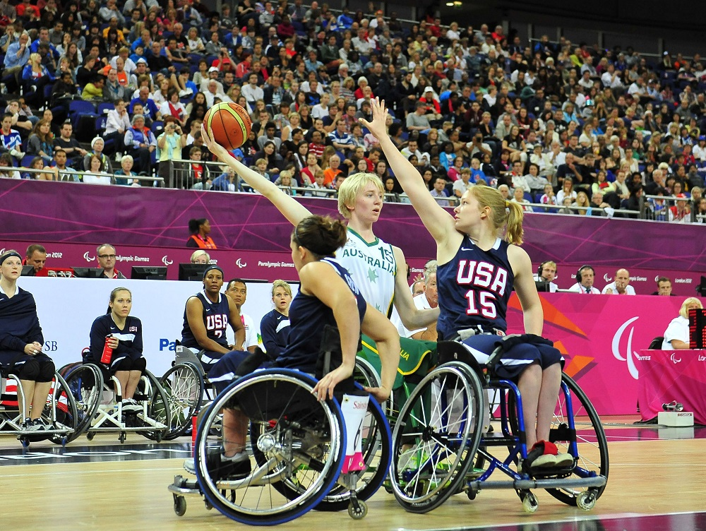 wheelchair olympics 2 chair garden set toyota partners with governing bodies ahead of 2020 tokyo usa womens basketball olympic team
