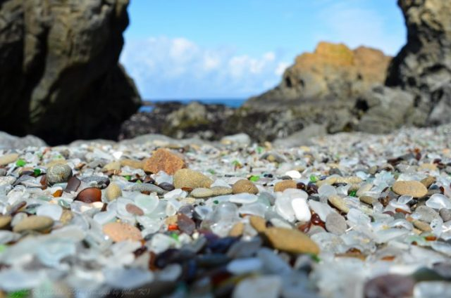 Glass Beach Pacific Coast Highway road trip