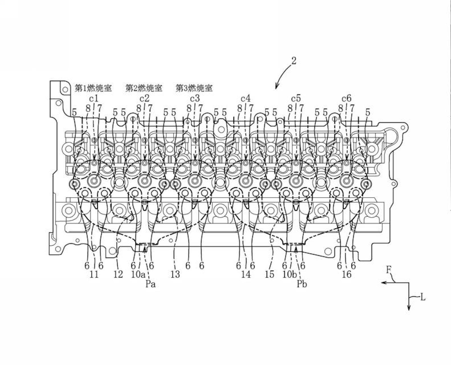 Mazda Patent Reveals A New Inline 6 Engine