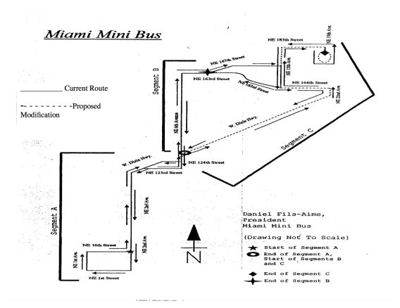 Miami Mini Bus