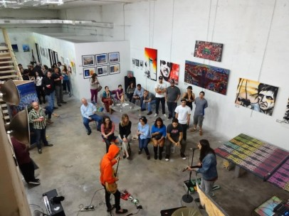 The YO space offers studio and exhibition space for local artists and will house a new permanent collection of Miami art. (Courtesy of YO Miami)