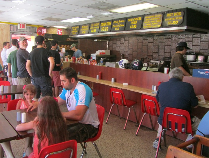 Arbetter's lunch rush fills up the intimate restaurant. (Ashley Martinez photo)