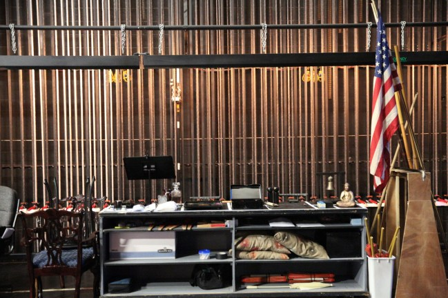 Backstage at the Adrienne Arsht Center. (Courtesy of Daniel Azoulay for Florida Grand Opera)
