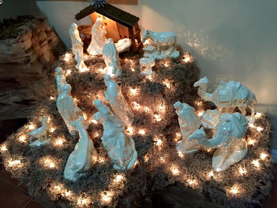 Nativity scene. (Courtesy of Stefanie Delgado)