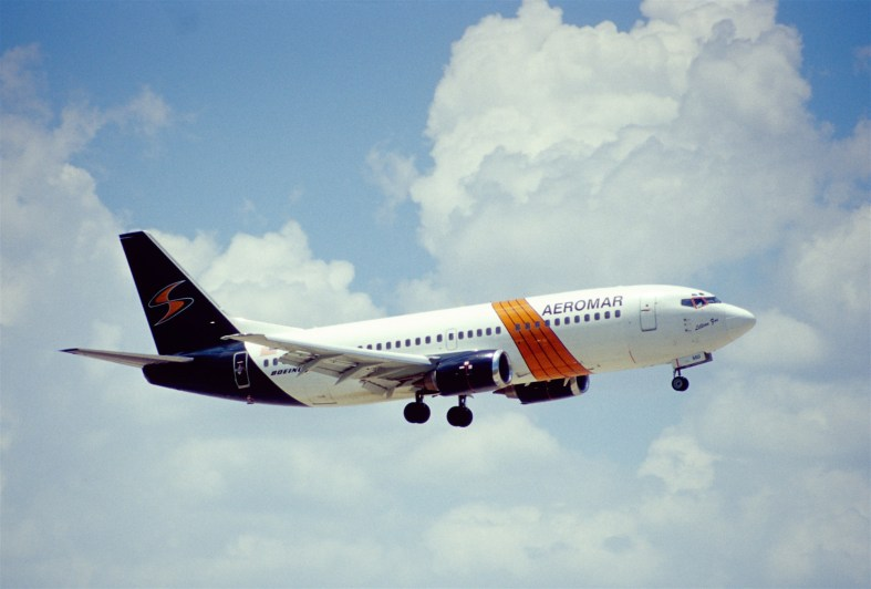A plane flying from Miami International Airport. (Courtesy of Aero Icarus/Flickr Creative Commons)