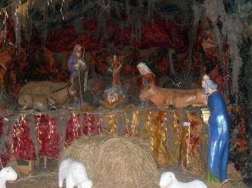 Nativity scene. (Courtesy of Kyara Espinales)