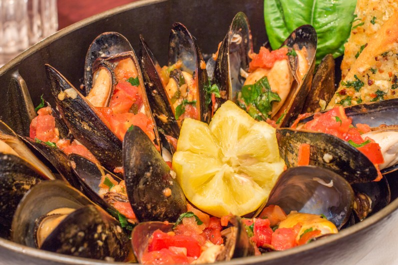 Mediterranean Mussels (Courtesy of Perricone's Marketplace and Cafe)