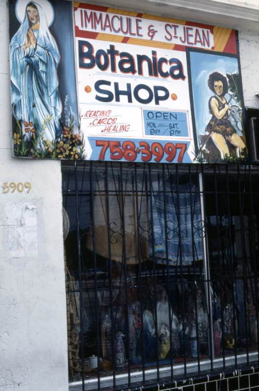Immacule & St. Jean Botanica Shop in Little Haiti (Courtesy of State Archives of Florida, Florida Memory )