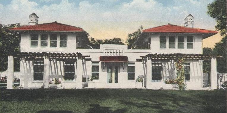 Villa Serena, the former house of William Jennings Bryan. (Courtesy of HistoryMiami)