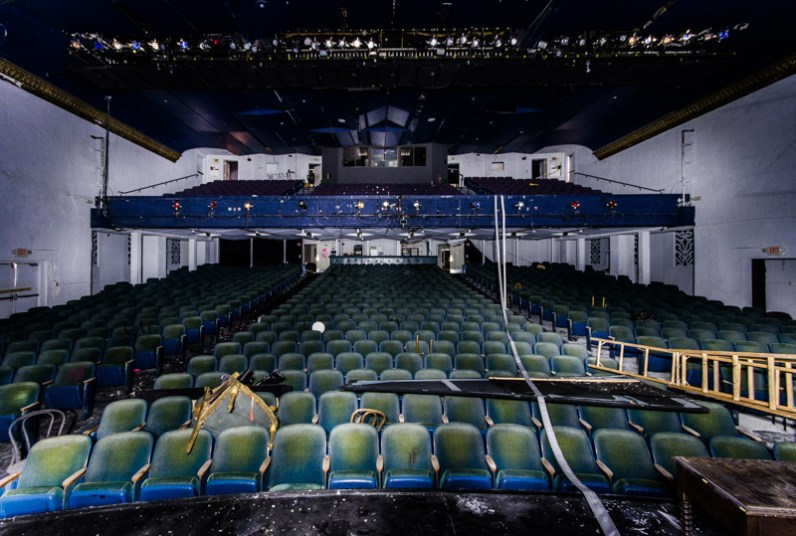 Inside of the Coconut Grove Playhouse. (Courtesy of David Bulit)