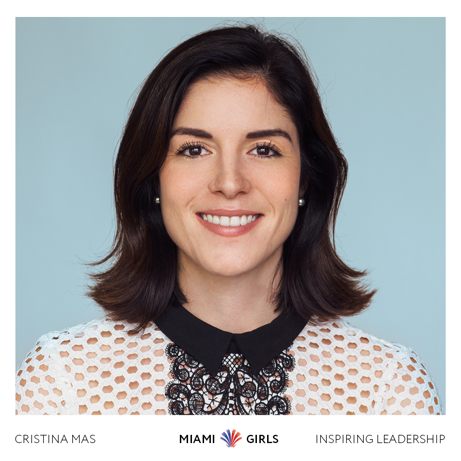 Christina Mas is a commercial associate at Colliers International and founding chairwoman of the Underline Young Professionals Group (Courtesy of Miami Girls)