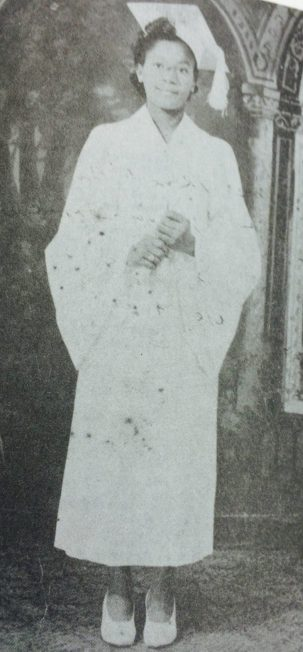 Gibson's high school graduation. (Courtesy of Forbearance : Thelma Vernell Anderson Gibson : the life story of a Coconut Grove native)